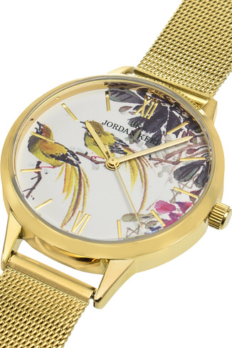 Zegarek Damski Jordan Kerr Colorful Birds S7002-5